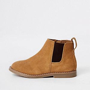 Bruine chelsea boots voor jongens
