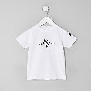 """Weißes T-Shirt """"Mini Rebel"""""""