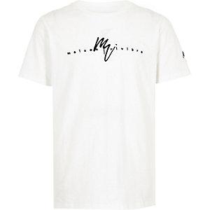 T-shirt «Maison Riviera» blanc pour garçon