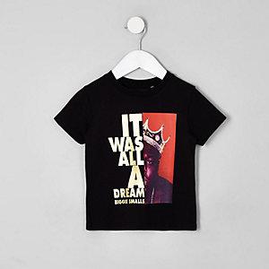 Biggie Smalls – T-shirt noir pour mini garçon