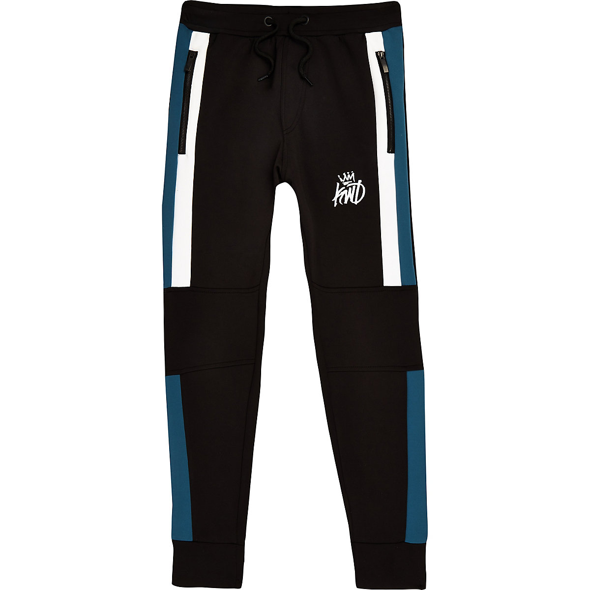 Zwarte Joggingbroek Jongens.Boys Black Kings Will Dream Joggers