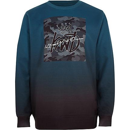 RIVER ISLAND | Boys Green Kings Will Dream sweatshirt | Goxip