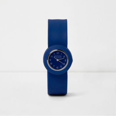 Boys Blue Pop Watch by River Island