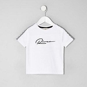 T-shirt «River» blanc mini garçon
