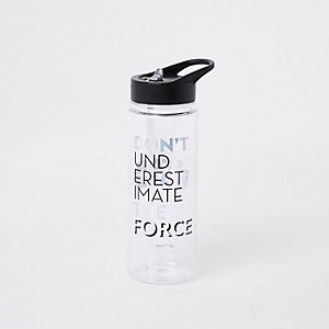 Boys black Star Wars water bottle