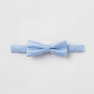 Lichtblauwe vlinderdas voor jongens