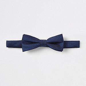 Boys bright blue bow tie