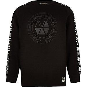 RI Active – Schwarzes Sweatshirt