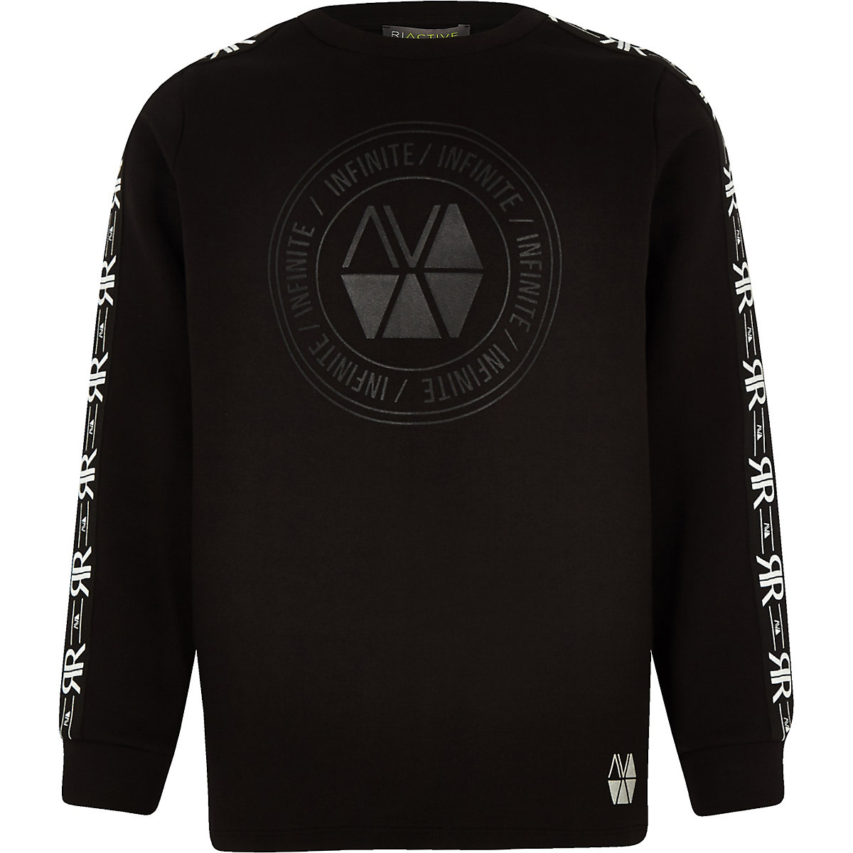 Boys RI Active black sweatshirt