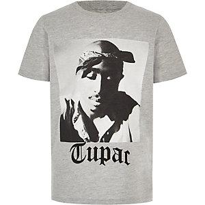 Tupac - Grijs T-shirt voor jongens