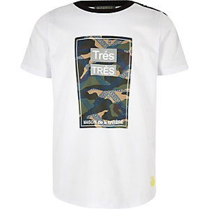 """RI Active – Weißes Camouflage-T-Shirt """"Tres"""""""