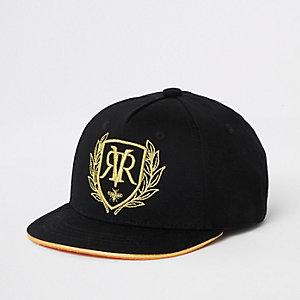 Casquette noire avec logo RI brodé mini garçon