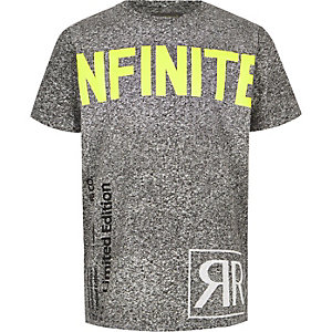 Boys RI Active 'infinite' print T-shirt