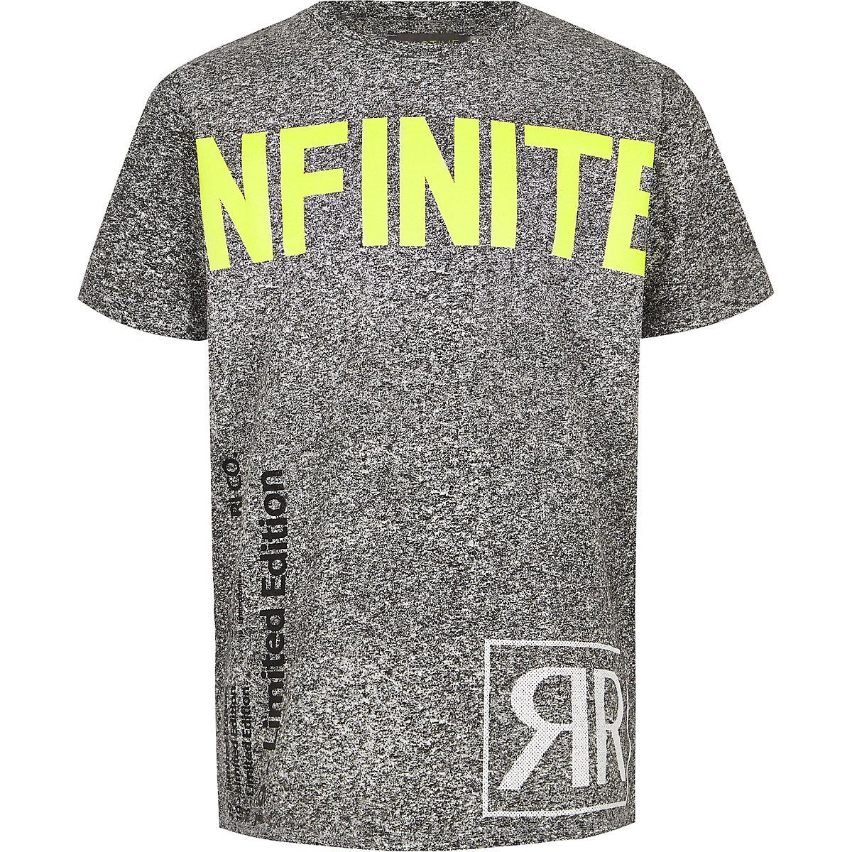 Boys RI Active 'infinite' print T-shirt