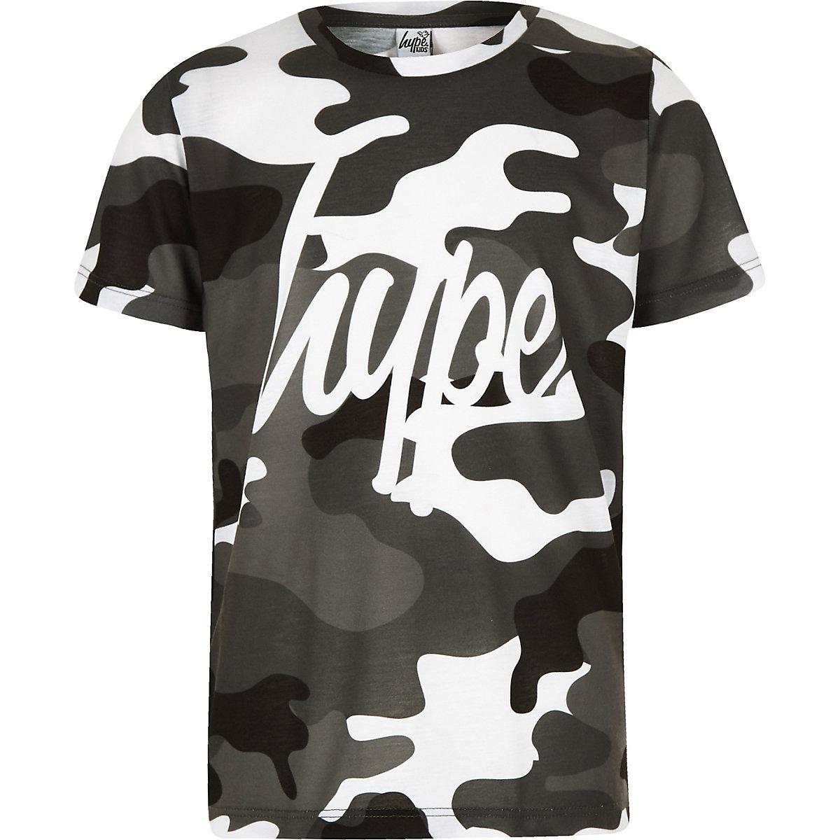 9e38d3c242 Boys grey Hype camo T-shirt - T-shirts - T-Shirts   Vests - boys