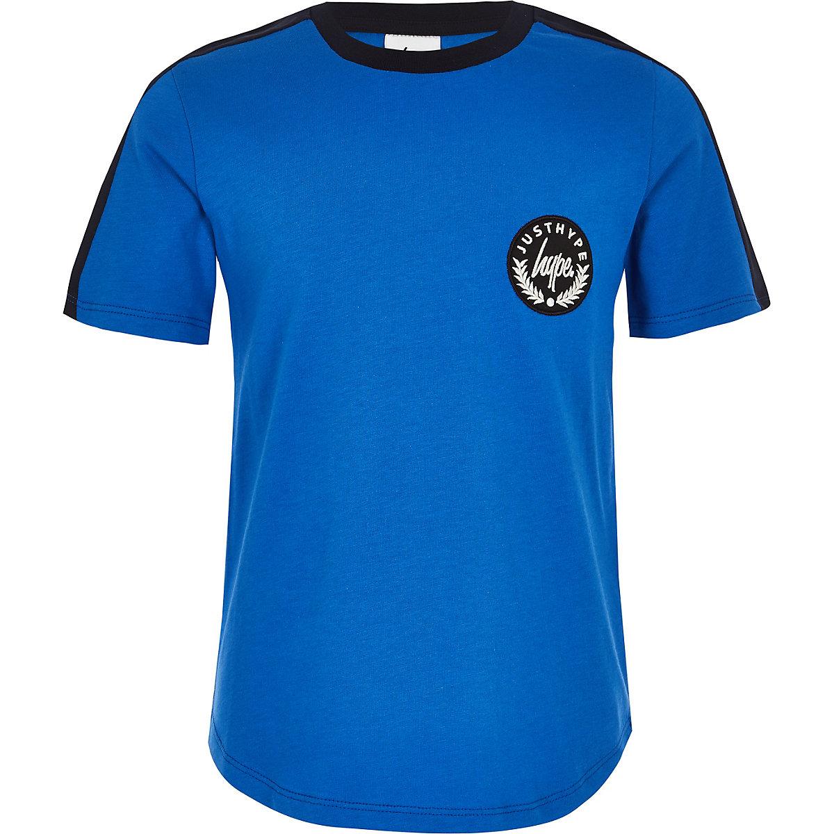 Boys Hype blue tape T-shirt