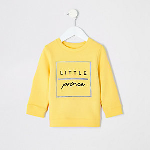 "Gelbes Sweatshirt ""Little Prince"""