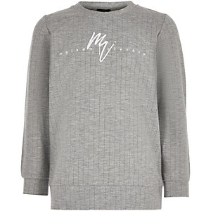 Boys grey 'Maison Riviera' sweatshirt