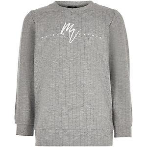 Boys grey 'Maison Riviera' sweatshirt