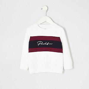 """Weißes Sweatshirt """"Prolific"""""""