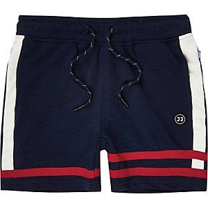 Jack and Jones - Blauwe jersey short voor jongens