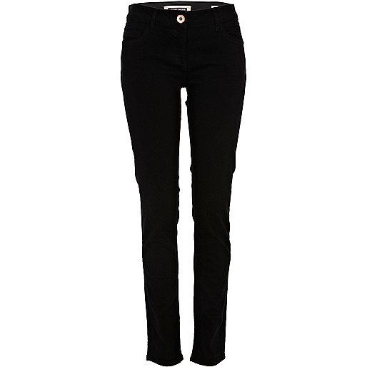 Deep black taylor skinny jeans