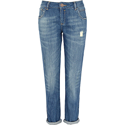 Mid wash denim Cassie boyfriend jeans