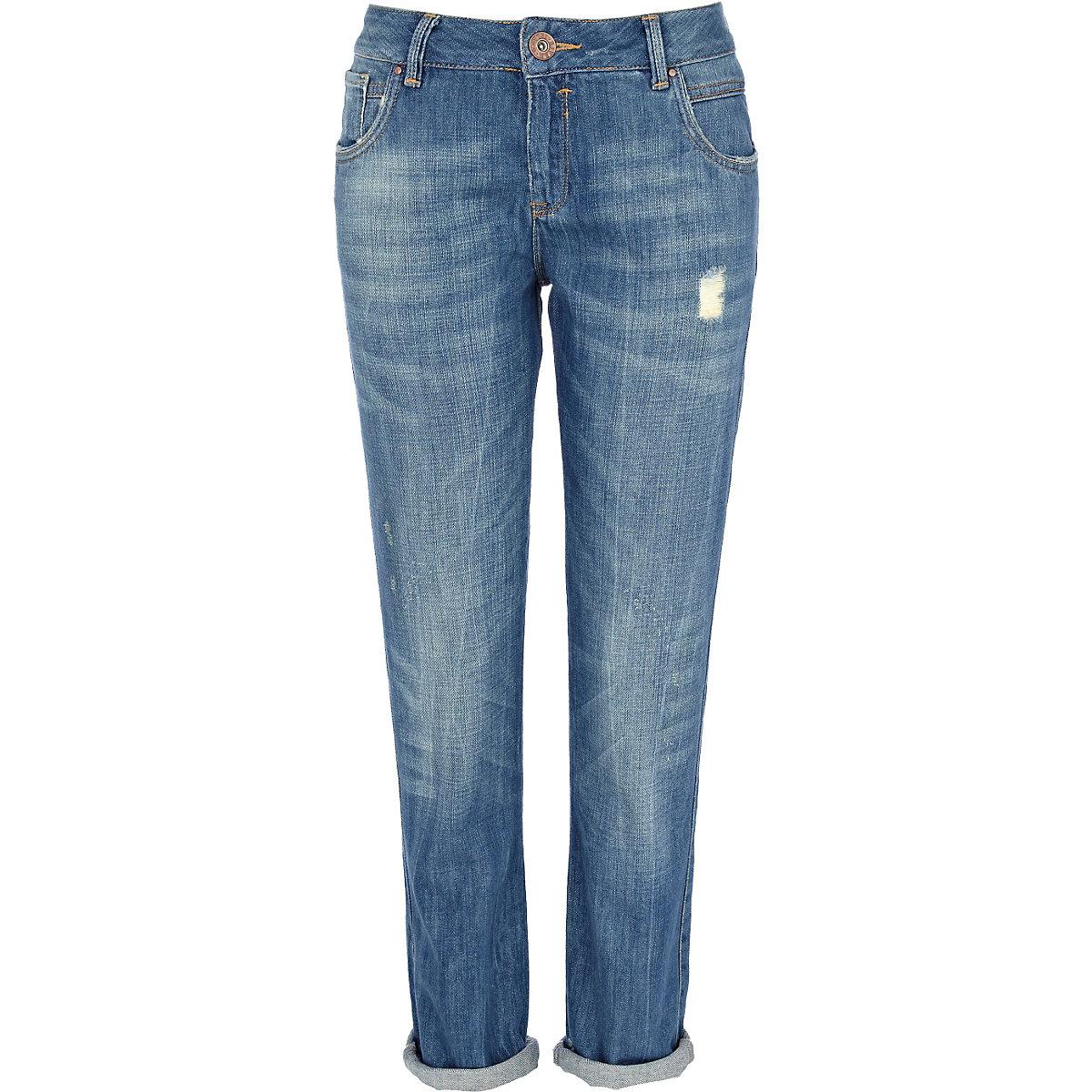 Mid wash denim Cassie boyfriend jeans