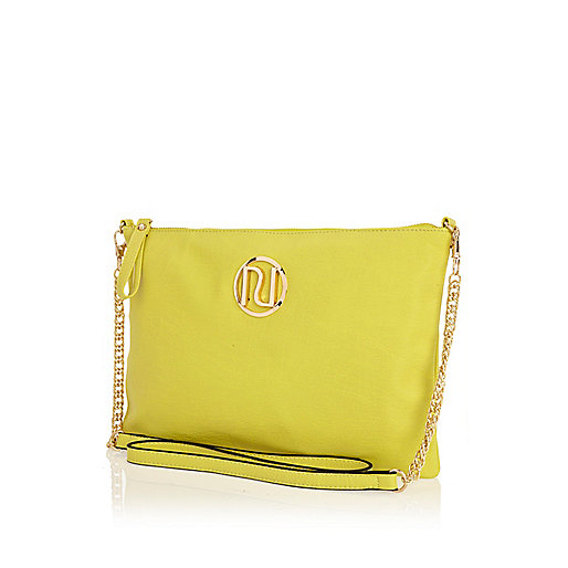 Lime RI cross body bag