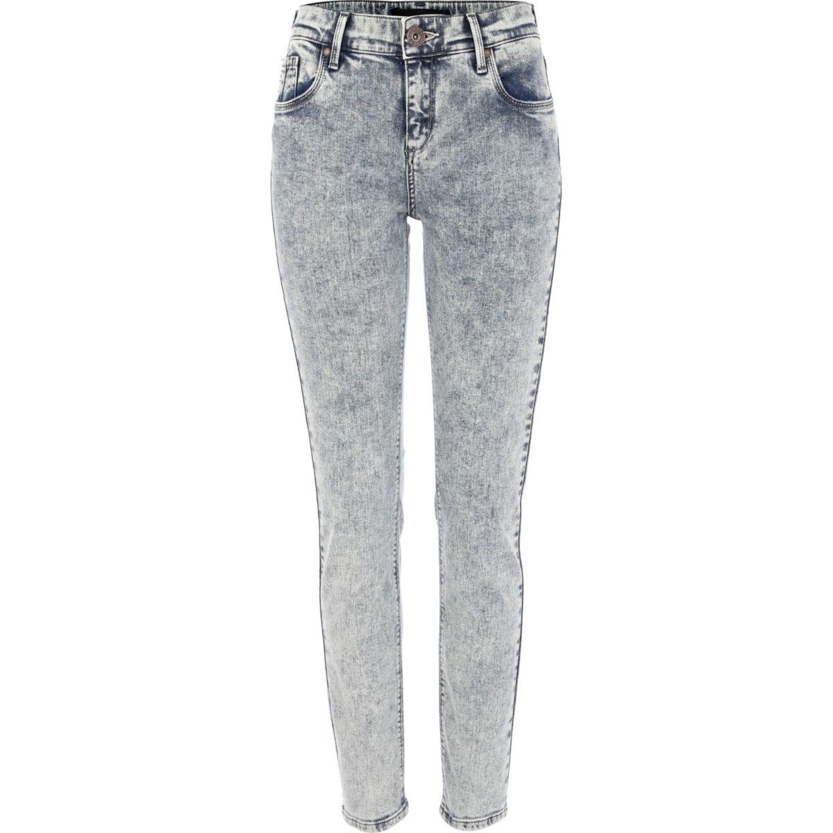 Acid wash Amelie superskinny jeans