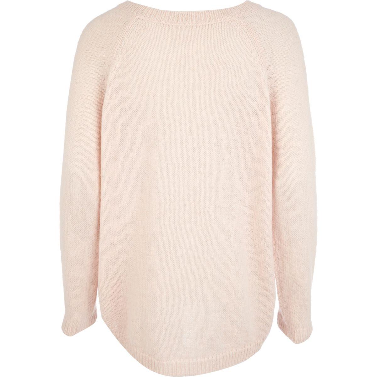Pink kiss me Christmas sweater - Knitwear - Sale - women