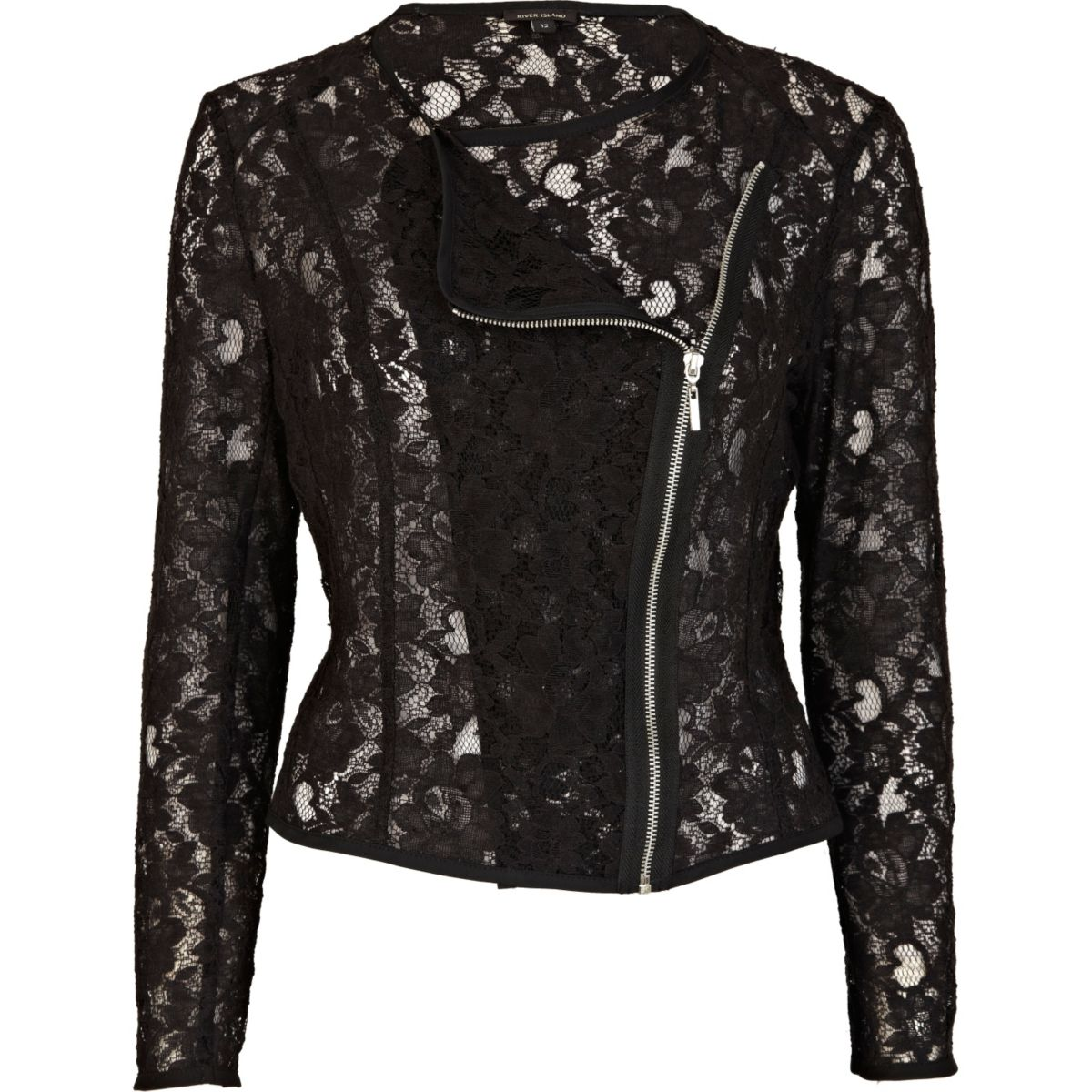 More Details Caroline Rose Luxury Lace Jacket, Gold/Black, Petite Details Caroline Rose metallic lace jacket. Shawl collar; open front. Three-quarter sleeves. Relaxed silhouette. Scalloped hem. Polyester. Made in USA of imported material. Designer.