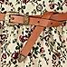 Cream floral print belted skater dress