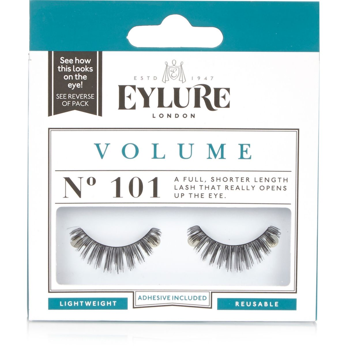 Eylure volume 101 eyelashes