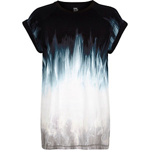 White Design Forum faded print t-shirt