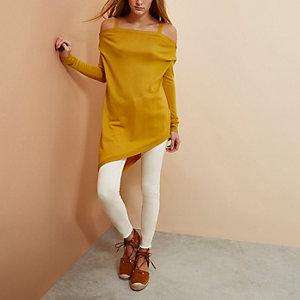 Yellow RI Studio merino wool sweater