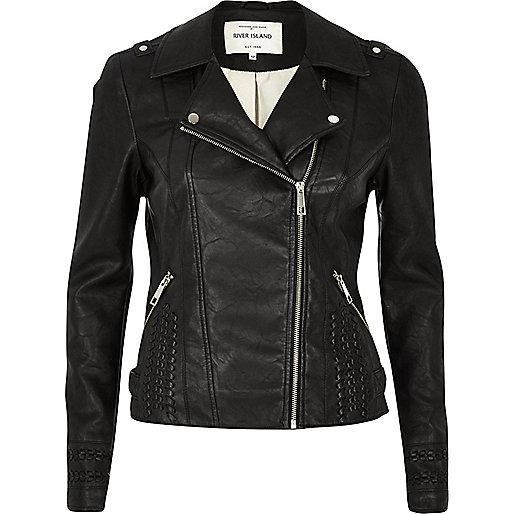 Leather Biker Jackets Women - Jacket