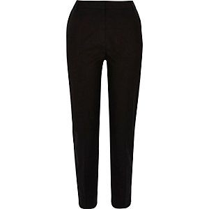 Black slim pants