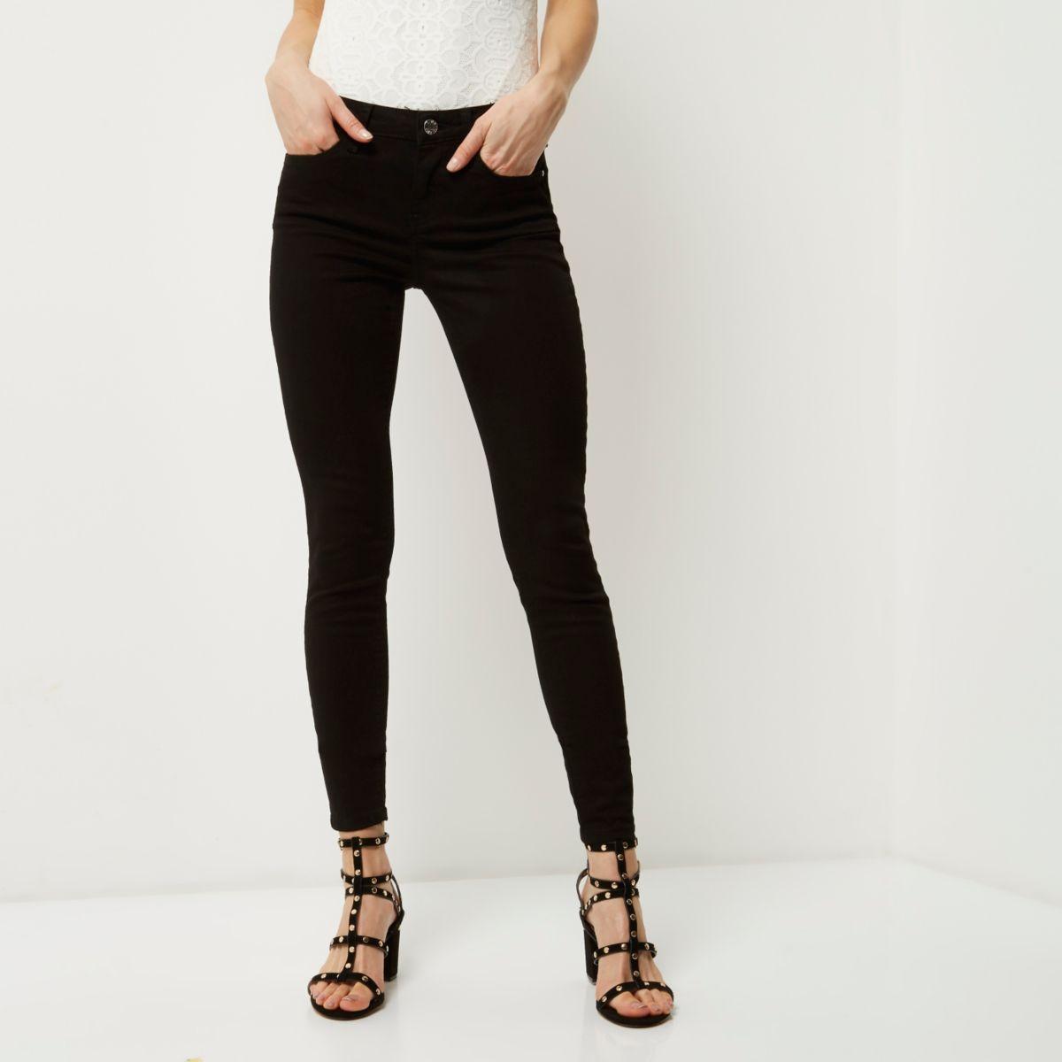 Black Amelie super skinny jeans - Jeans - Sale