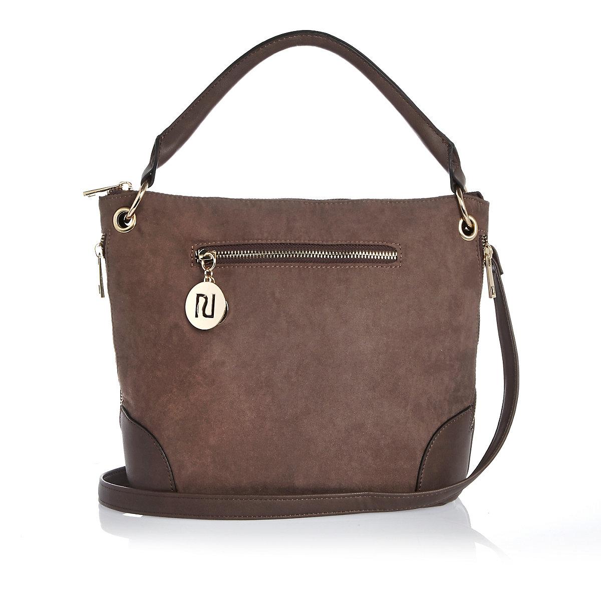 bad292e9e6 Light brown bucket handbag - Shoulder Bags - Bags   Purses - women