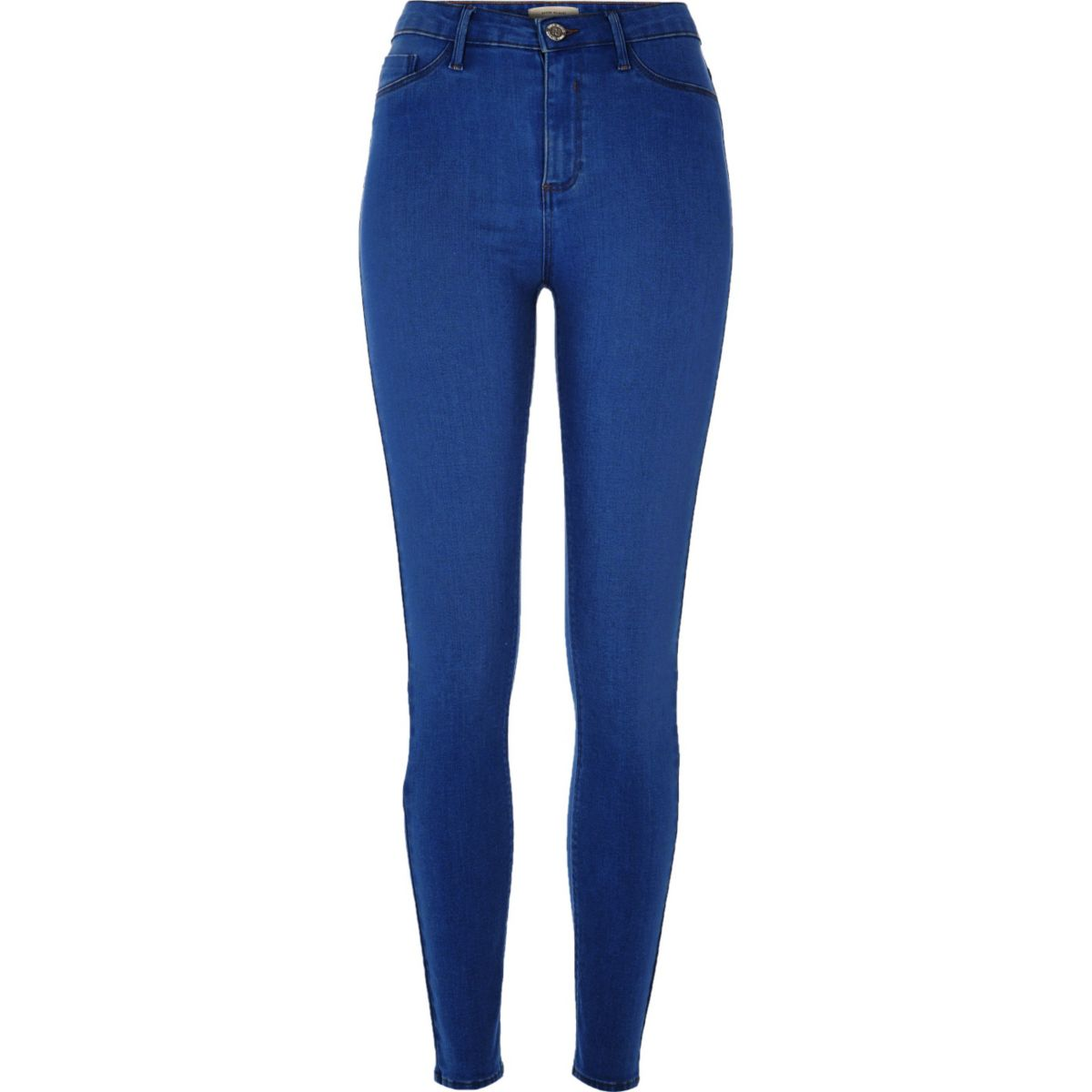 Molly – Jeggings in hellblauer Waschung