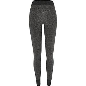 Grey high waisted seamless leggings