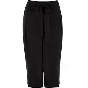 RI Plus black culottes