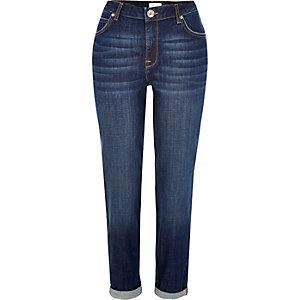 Dark blue wash Ashley boyfriend jeans