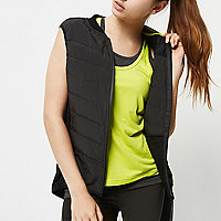 RI Active black padded sports gilet