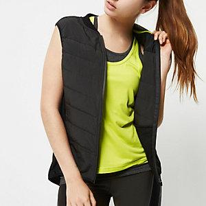 RI Active black padded sports vest