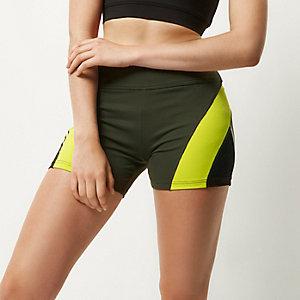 RI Active khaki gym shorts
