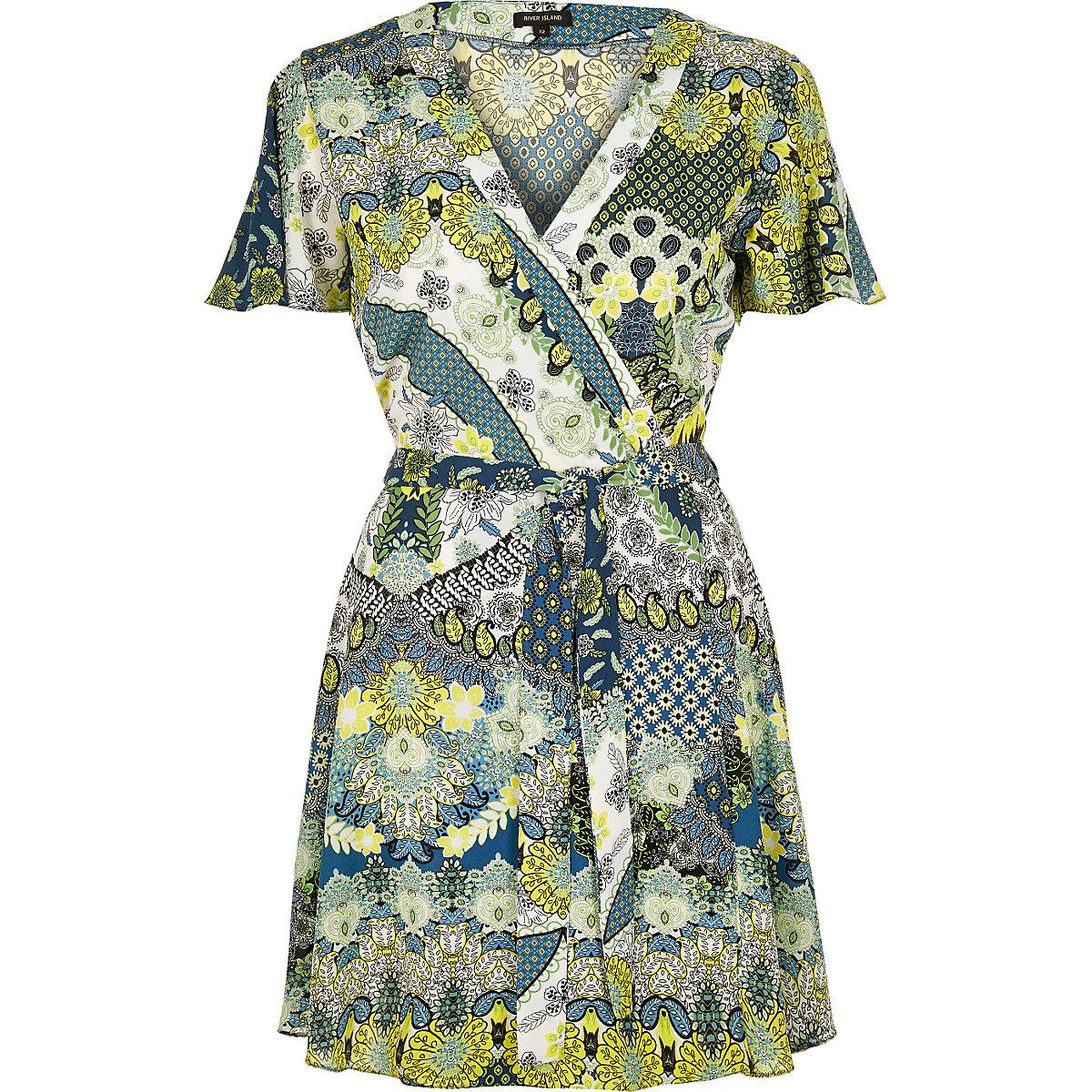 Green tea dress