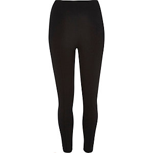 Black high rise leggings