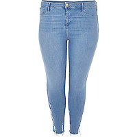 RI Plus light blue wash Molly jeggings